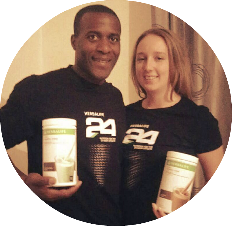 Darren and Annie Herbalife North London